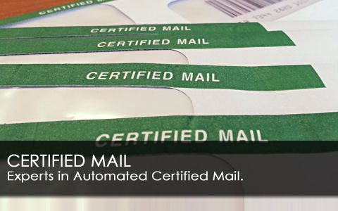 we make it easy to send certified mail online