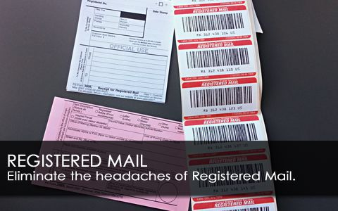 Effortless Registered Mail